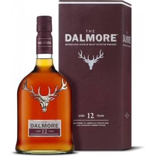 Dalmore 12 Year Old Scotch Whisky 0,7