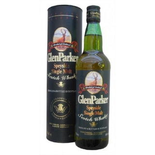 Glen Parker Single malt whisky ze Speyside 1L