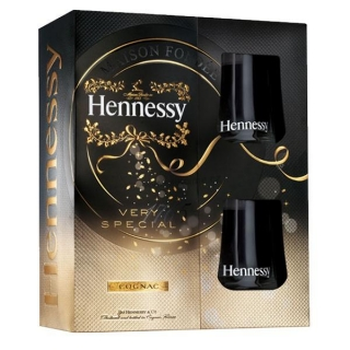 Hennessy VS Gift Glas set 0,7