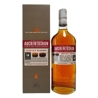 Auchentoshan 14 yo Cooper s Reserve Single Malt Scotch whisky 0,7