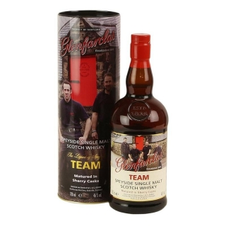 Glenfarclas Trilogy Team whisky 0,7