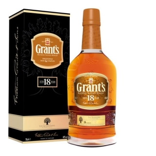 Grant's Rare 18 years Old Blended whisky 0,7