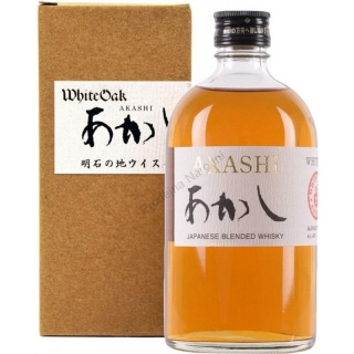 Akashi White Oak Blended Japanese Whisky 0,5
