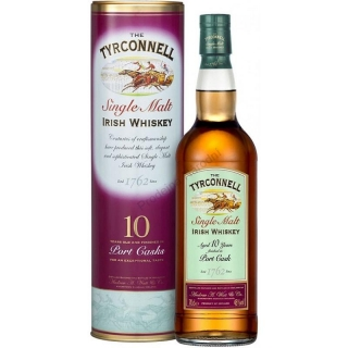 Tyrconnell Irish 10yo Port Cask whiskey 0,7