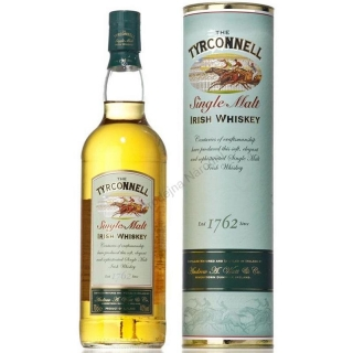 Tyrconnell Single Malt Irish whiskey dárkový tubus 1L