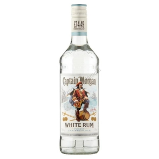 Captain Morgan White Rum 1l