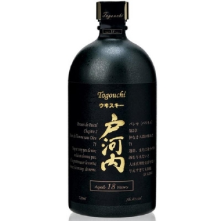 Togouchi 18 yo Blended Japanese whisky 0,7