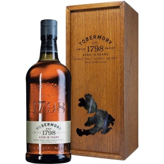 Tobermory 15 Year Old Whisky 0,7